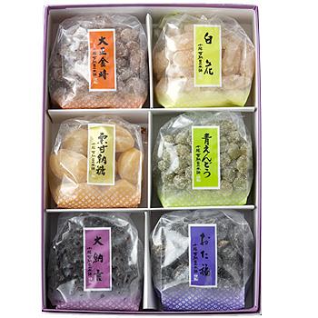 甘納豆6種類詰合せ