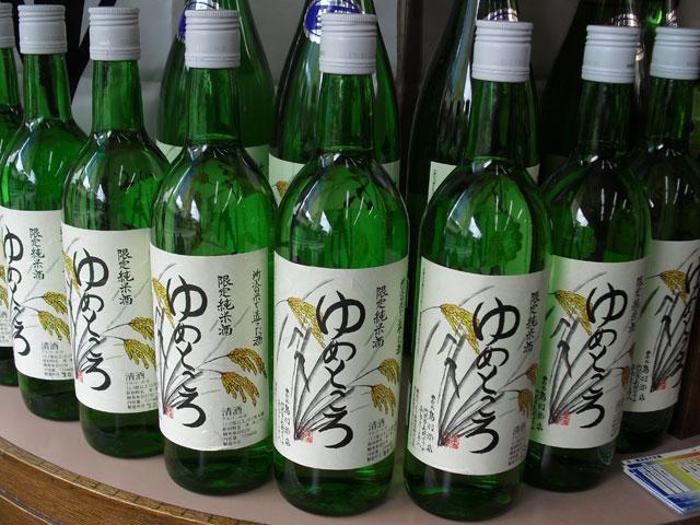 特別純米酒「ゆめところ」 しまむら酒店